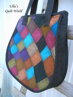 Ulla's Quilt World: Quilt bag by Ulla's Quilt World