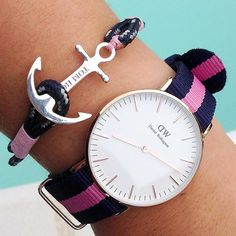 Tom Hope Coral Pink, carefully handcrafted with our signature sterling  silver anchor. Free worldwide