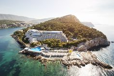 The stunning Hotel Dubrovnik Palace...