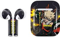 Skinit Decal Audio Skin for Apple AirPods with Wireless Charging Case - Officially Licensed Funimation Katsuki Bakugo Design My Hero Academia Merchandise, My Hero Academia Episodes, Anime Merchandise, My Hero Academia Memes, My Hero Academia Manga, Anime Inspired Outfits, Anime Outfits, All Might Cosplay, Disney Pins Sets
