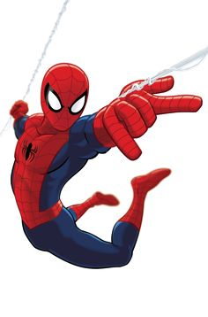 """Spider-Man: """"..has extraordinary arachnid powers and capabilities.. possesses.. powers of a spider.. which bit Peter that was.. mutated from prior exposure to certain frequencies of radiation.. The radioactive, complex mutagenic enzymes in the spider's blood that were transferred at the time of the bite triggered numerous body-wide mutagenic changes within Peter, granting him superhuman strength, speed, toughened flesh, and numerous arachnid-like powers."""""""