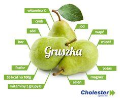Gruszek możemy wyliczyć wiele odmian. Którą lubicie najbardziej? #cholester #gruszka #zdrowie #dieta #owoce