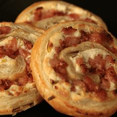 Kielbasa Pastry Spirals