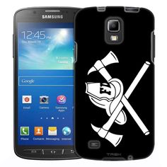 Samsung Galaxy S4 Active Silhouette Dolphin on White Slim Case