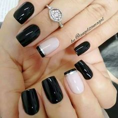 50 Awesome French Tip Nails to give your manicure another dimension - Most Trending Nail Art Designs in 2018 Acrylic Nail Designs, Nail Art Designs, Acrylic Nails, Nails Design, Pedicure Designs, Design Art, French Nails, French Pedicure, French Manicures