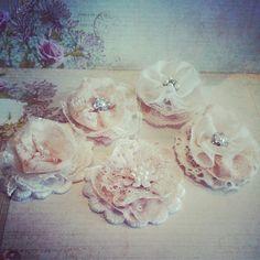 Shabby Chic Lace Flower created by Bona Rivera-Tran.