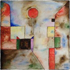 'red balloon' von Michael Leinsinger bei artflakes.com als Poster oder Kunstdruck $19.41