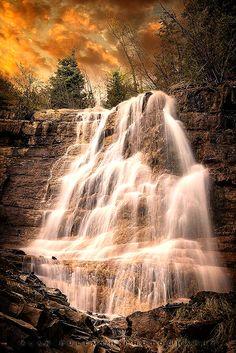 Grove Creek Fall,Utah.