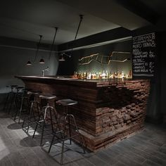 The French Connection:  What. A. Bar. A counter so sexy you should make out on it. with a splash of G
