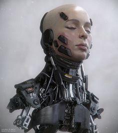 Cyberpunk, Cyborg, Prototype: Oksana 1B