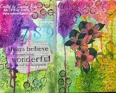Susanne Rose - Papierkleckse: Art Journal Page with Video