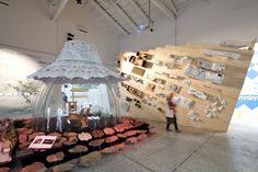Pavilhão da Espanha na Bienal de Arquitetura em Viena 2012