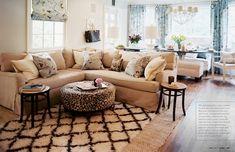 Get the Look: Layered Rugs | Boston Interiors Blog