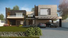 900 Sqm Contemporary Residence by Galleria Designs (Renderings by Furqan Sheikh) – info-360
