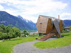 Compact Home Designed for Breathtaking Views of the Alps / Eco Dwelling <3