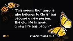"""2 Corinthians 5:17 - From Great News! Daily, """"From Discarded Scraps,"""" Wednesday, December 3, 2014 #scraps #recycling Subscribe: http://ui.constantcontact.com/d.jsp?m=1115825817296&p=oi"""