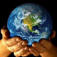 Earth in Hand by www.BackgroundNow.com, via Flickr