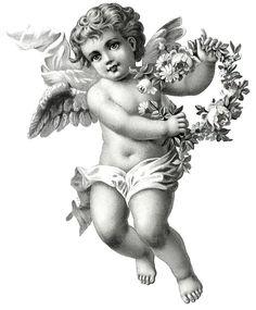 Angel Tattoo For Women, Baby Angel Tattoo, Cupid Tattoo, Tattoo Baby, Lion Tattoo, Angel Sketch, Angel Drawing, Angel Tattoo Drawings, Chicano Angel Tattoo