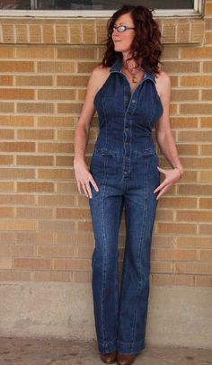 "NWT~Free People~Vintage Denim Jumpsuit~8~32"" inseam~$428 *SOLD OUT & RARE* #FreePeople #Jumpsuit"