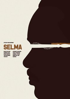 Selma (2014) ~ Minimal Movie Poster by Matt Needle ~ Oscar Bait 2015 Series #amusementphile