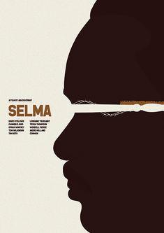 Selma (2014) ~ Minimal Movie Poster by Matt Needle ~ Oscar Bait 2015 Series #amusementphile