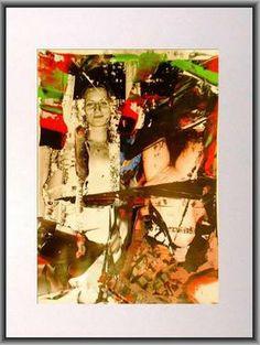 "Saatchi Art Artist Martin Georg Sonnleitner; Photography, ""Red Suite Elisabeth "" #art White Ink, Black And White, Ink Painting, Saatchi Art, Erotic, Polaroid Film, Artist, Red, Photography"