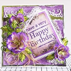 elegant card, scrapbook and mixed media ideas for all occasions - Heartfelt Creations Christmas Poinsettia, Christmas Paper, Sending You A Hug, Flower Stamen, Heartfelt Creations Cards, Purple Poppies, Purple Cards, Red Geraniums, Clear Glue