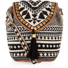 Monsoon Tribe Braided Mini Pouch Bag