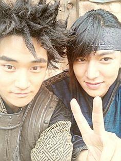 Faith <3 Korean Drama Movies, Korean Actors, Korean Dramas, Lee Min Ho Kiss, Lee Min Ho Faith, Kim Hee Sun, Korean Tv Shows, The Great Doctor, Do Bong Soon