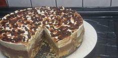 Πανεύκολη, λαχταριστή τούρτα δίχρωμη με μπισκότα, ζαχαρούχο και μερέντα για όλες τις περιστάσεις! Tiramisu, Ethnic Recipes, Daddy, Food, Essen, Meals, Tiramisu Cake, Fathers, Yemek