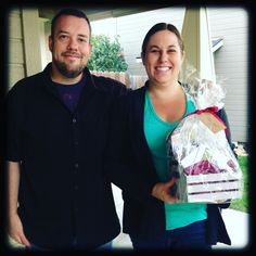 Congratulations to our fabulous clients, Ryan and Samantha, for not only being the winners of our awesome gift basket giveaway from our Client Appreciation Event last month, but they also sold and bought a new home in the past week!! We are so excited and happy for your sweet family! Thank you for choosing to work with us, it was such a pleasure!