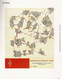 Guía Psicogeográfica de París, Guy Debord