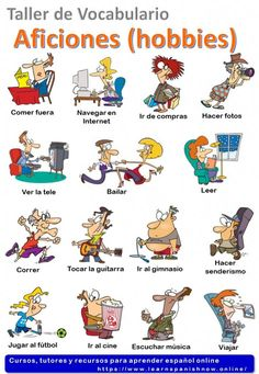 Hobbies in Spanish