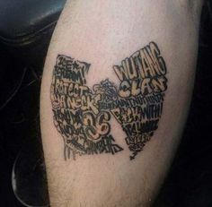Best Wu-Tang Tattoo by Efe Eren