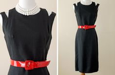 1960s Linen Dress / 60s Shift Dress, Anne Fogarty // Eclipse of the Heart