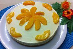Receta: Tarta Mousse de Yogur con Duraznos (light y vegana) - La Cocinadera