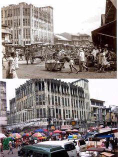 Old DIVISORIA  Location:  Divisoria ,Manila Philippines  Wayback 193O's Philippines Culture, Manila Philippines, Old Pictures, Old Photos, Philippine Architecture, Jose Rizal, Filipino Culture, Back In Time, Places To Visit