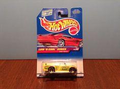 Hot Wheels Mini Truck #697 Low 'N Cool #1 of 4 1998 Yellow Convertible Pickup #HotWheels
