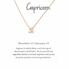 Minimalist 12 Constellation Capricorn Necklaces For Women Zodiac Chains Necklace Gold Color Valentine's Gifts Fashion Jewelry. Circle Necklace, Gold Necklace, Dainty Necklace, Leather Gifts For Her, Minimal Jewelry, Metal Necklaces, Fashion Necklace, Fashion Jewelry, Valentine Gifts
