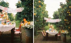 Gorgeous. Donkey and the Carrot: Handkerchief wedding ideas to DIY! Γάμοι που... άφησαν εποχή