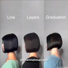 Hair Cutting Videos, Hair Cutting Techniques, Hair Color Techniques, Hair Videos, Cutting Hair, Medium Hair Styles, Curly Hair Styles, Hair Medium, Grunge Hair