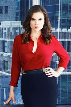 """ The Sexiness!!! o.m.g She is so beautiful New promotional picture of Hayley Atwell as Hayes Morrison for ABC's Conviction """