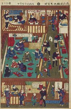 Favorite tweet by @ukiyoeota // ねこのそば屋さんの浮世絵全体図はこちら作者は四代歌川国政タイトルは志ん板猫のそばや明治年1973の作です現在展示はしておりません http://55.sasanov.net/1MVyi3d