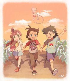 Sawyer Pokemon, Ash Pokemon, Pokemon People, Pikachu, Pokemon Couples, Play Pokemon, Pokemon Stuff, Pokemon Comics, Anime Comics