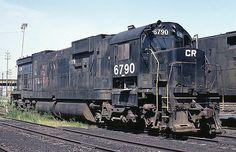 Conrail American Locomotive Company Century 636 6790