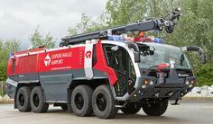 Rosenbauer Panther 8x8 #airport firetruck //  #Rosenbauer #Panther…