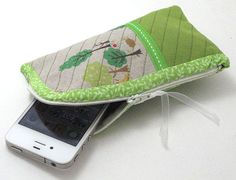 DIY My Little Forest PouchIphone case PDF Sewing by Happybee
