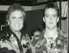 Johnny and John Carter Cash