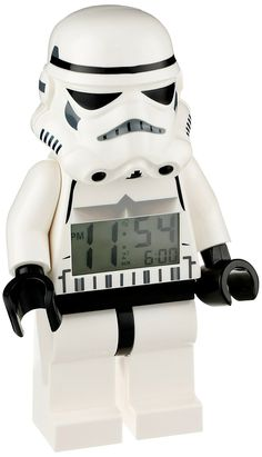 Amazon.com: LEGO Star Wars Stormtrooper Figurine Alarm Clock (9002137): Lego…