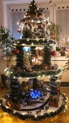 Diy Christmas Village Displays, Department 56 Christmas Village, Christmas Villages, Christmas Decorations, Christmas Wood, Christmas Design, Christmas Time, Santa's Village, Halloween Village